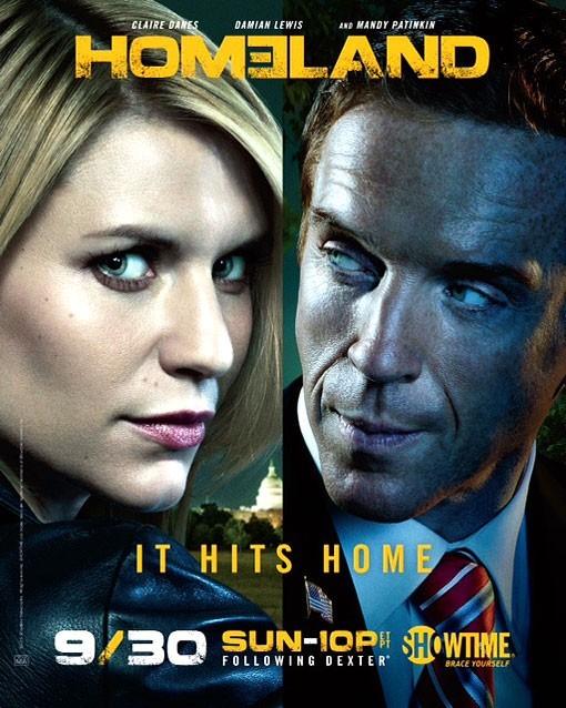 Homeland: un poster della stagione 2