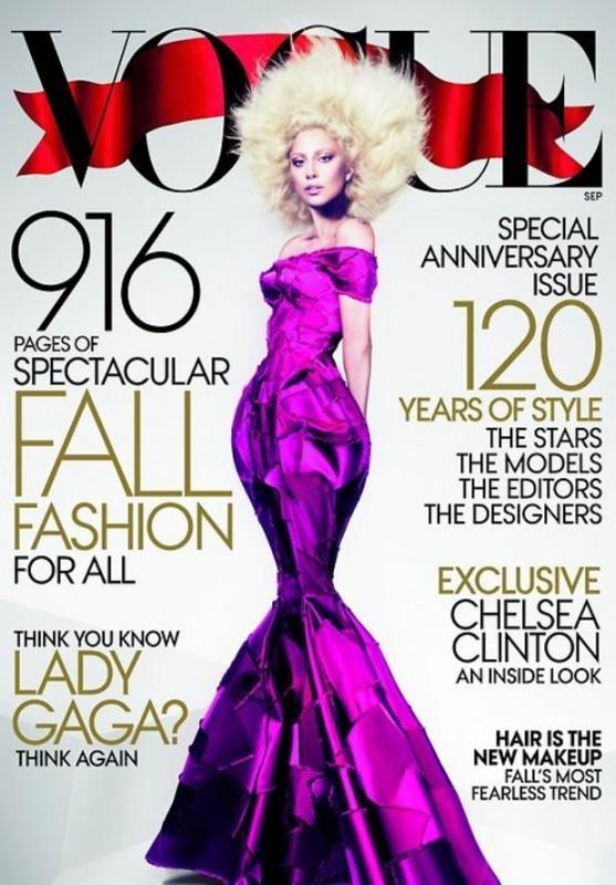 Lady Gaga su Vogue USA (settembre 2012)