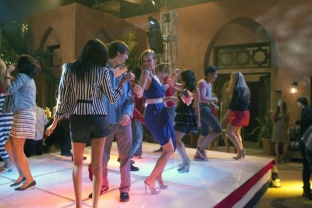 90210: AnnaLynne McCord in una scena dell'episodio Party Politics