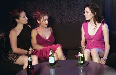 Rose McGowan, Holly Marie Combs e Alyssa Milano nell'episodio Il ritorno del Trio (2° parte) della serie TV Streghe