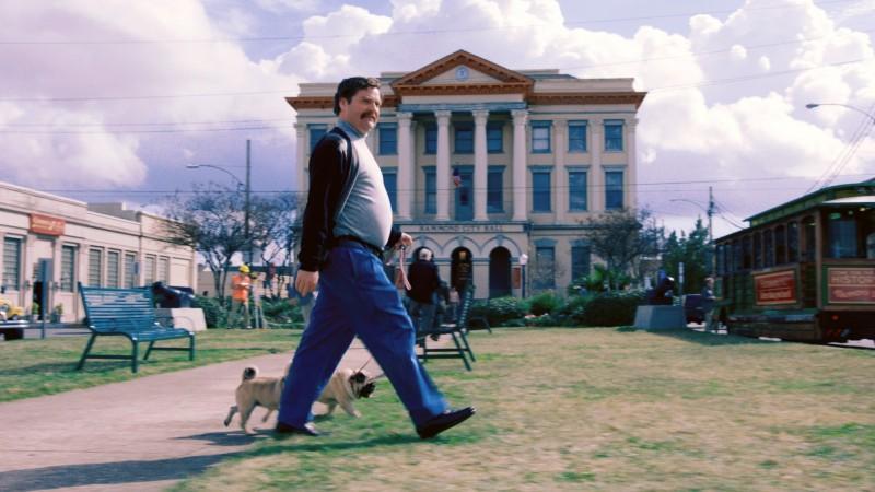 Zach Galifianakis a passeggio in Candidato a sorpresa