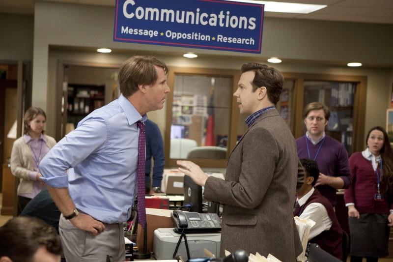 Jason Sudeikis in Candidato a sorpresa (2012) con Will Ferrell