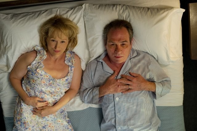 Meryl Streep a letto con Tommy Lee Jones nella commedia Hope Springs