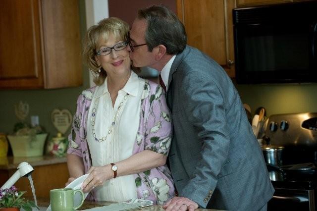 Meryl Streep con Tommy Lee Jones nella commedia romantica Hope Springs - consigli per gli affetti