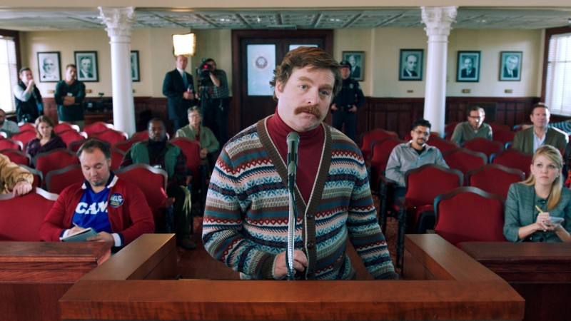 Zach Galifianakis è Marty Huggins in Candidato a sorpresa