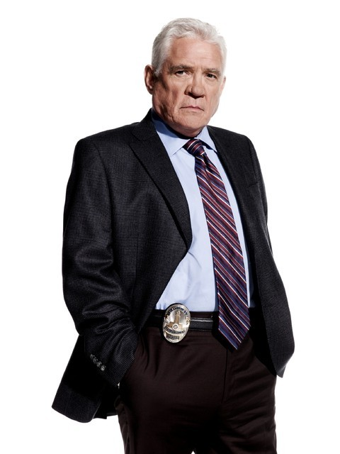 Major Crimes: G.W. Bailey in una immagine promozionale della serie