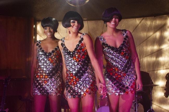 Tika Sumpter, Carmen Ejogo e Jordin Sparks nella pellicola musicale Sparkle