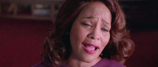 Whitney Houston in una sequenza di Sparkle