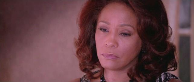 Whitney Houston in una sequenza di Sparkle, interpretato prima della scomparsa