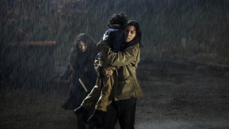 I bambini di Cold Rock: Jessica Biel con Jakob Davies e Jodelle Ferland in una scena del film