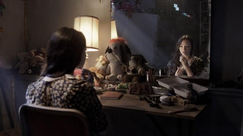 I bambini di Cold Rock: Jodelle Ferland in un'inquietante scena del film