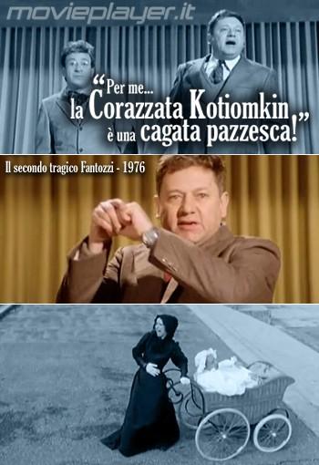 Paolo Villaggio in 'Il secondo tragico Fantozzi' - la nostra eCard: condividi sui social le immagini e frasi dei tuoi film e attori preferiti!