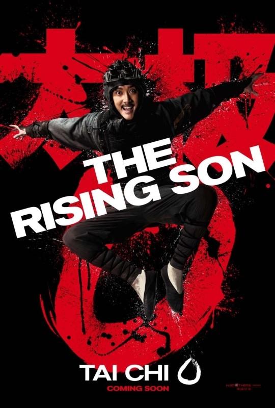 Tai Chi 0: character poster per The Rising Son