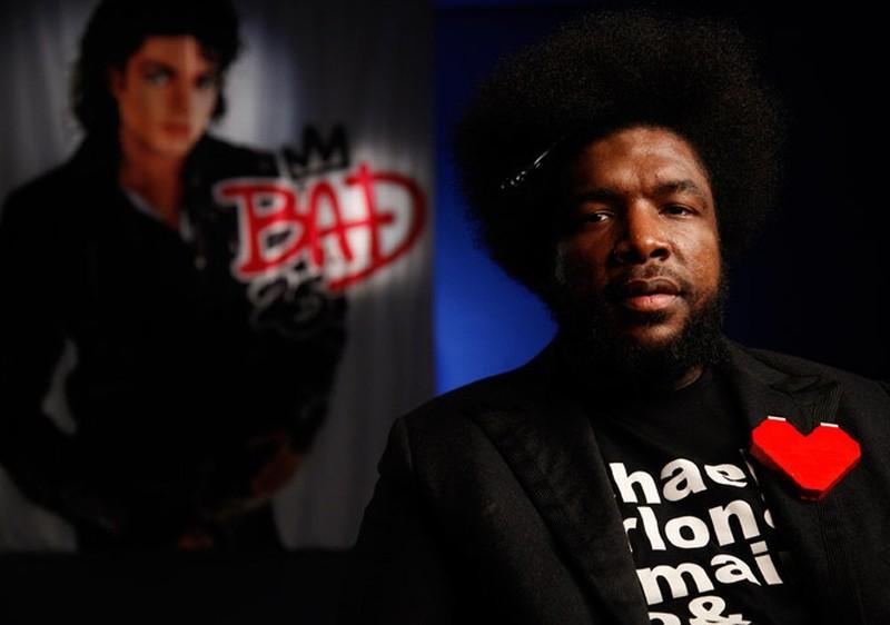 Bad 25: Questlove, il rapper, produttore e batterista dei The Roots, in un'immagine del documentario