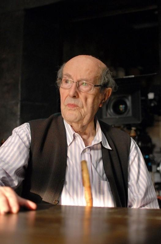 Gebo e l'ombra: il regista Manoel de Oliveira sul set del film