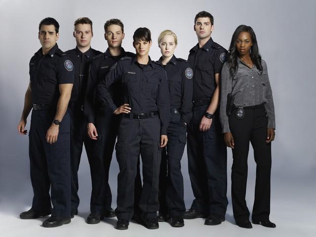 Rookie Blue: il cast in una foto promozionale della stagione 3