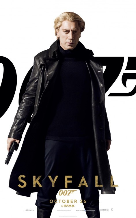 007 - Skyfall: Character Poster per Javier Bardem - Silva
