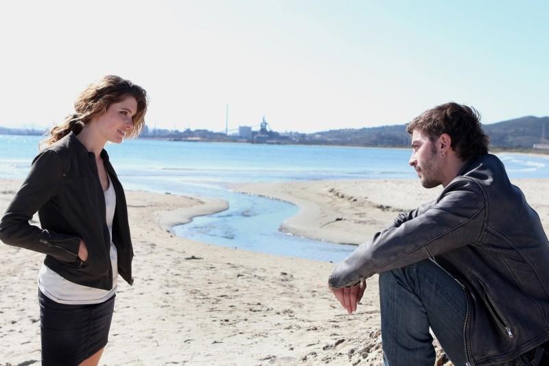 Acciaio: Vittoria Puccini e Michele Riondino in una scena del film