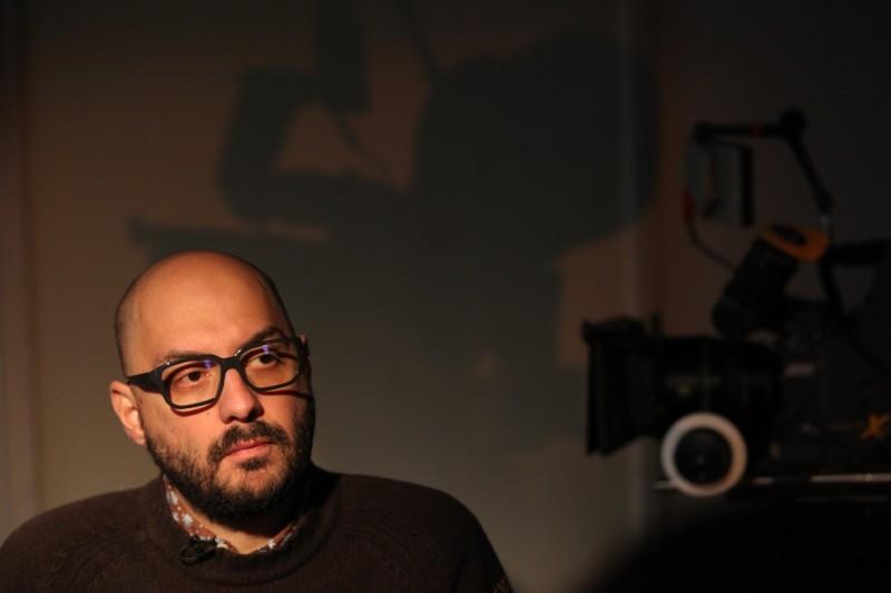Betrayal: il regista Kirill Serebrennikov sul set