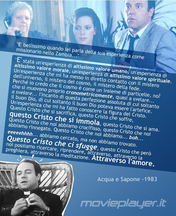 Carlo Verdone e Natasha Hovey in Acqua e Sapone: la nostra eCard: condividi sui social le immagini e frasi dei tuoi film e attori preferiti!
