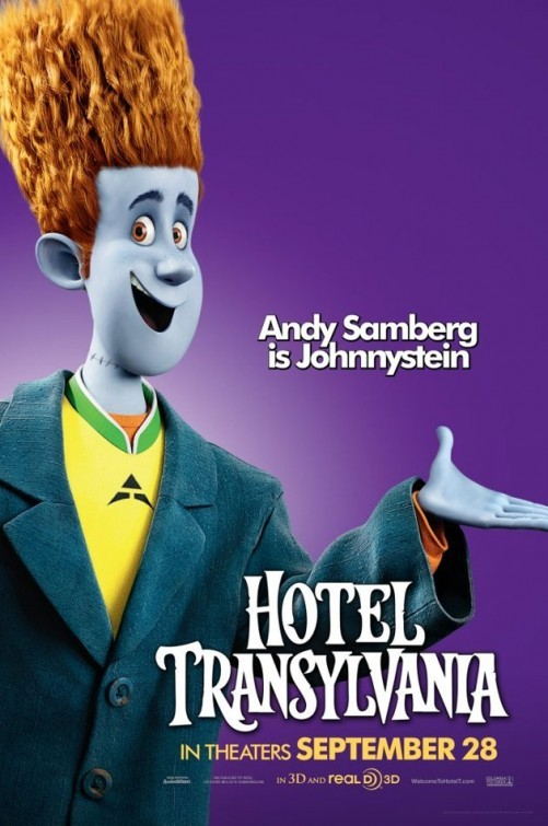 Hotel Transylvania: Character Poster per Johnnystein