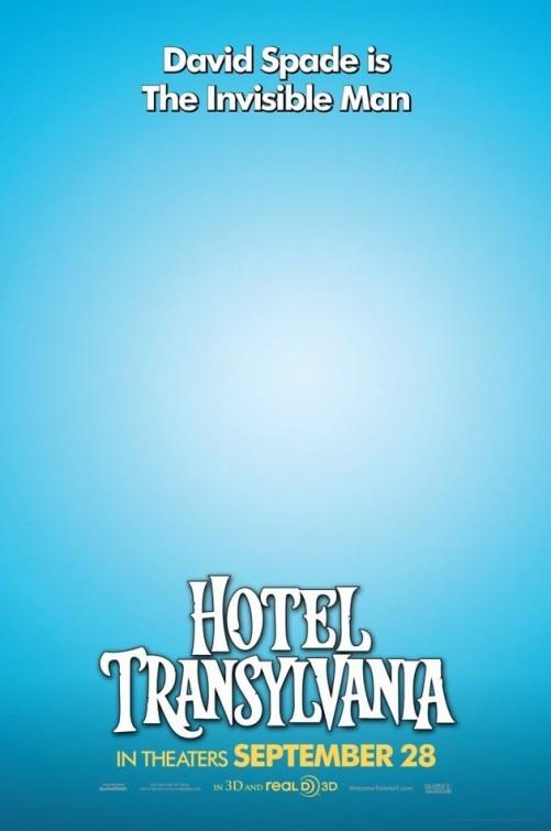 Hotel Transylvania: Character Poster per L'uomo invisibile