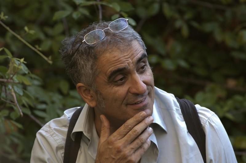 Il regista Leonardo Di Costanzo sul set de L'intervallo