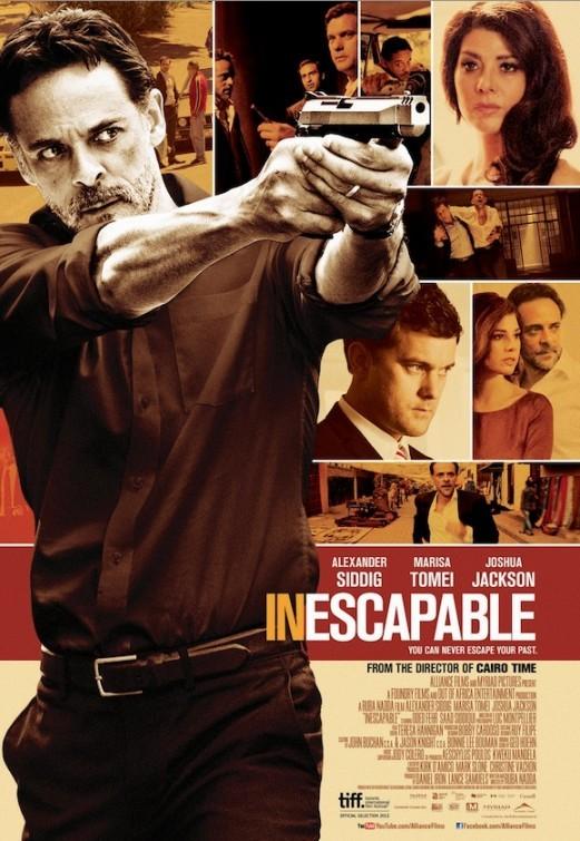 Inescapable: la locandina del film