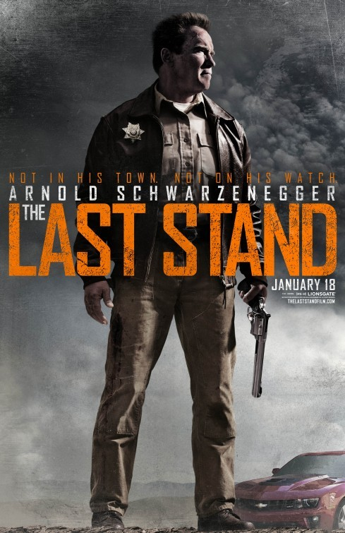 The Last Stand: poster USA