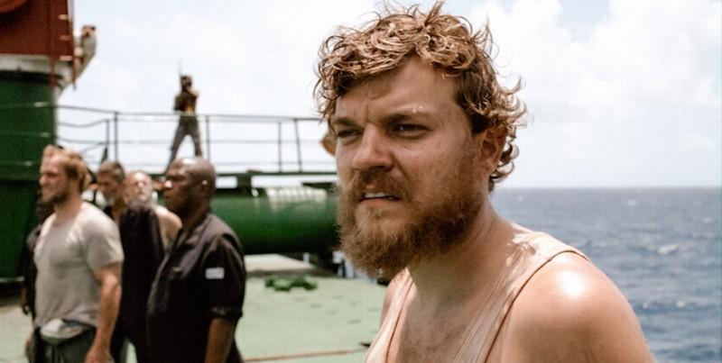 A Hijacking: il protagonista Pilou Asbæk in una scena del dramma carcerario danese