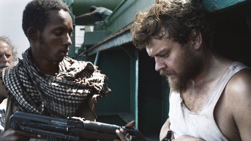 A Hijacking: il protagonista Pilou Asbæk in una scena del film