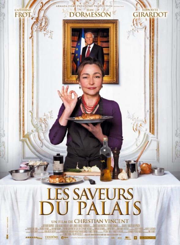 Les saveurs du Palais: la locandina del film