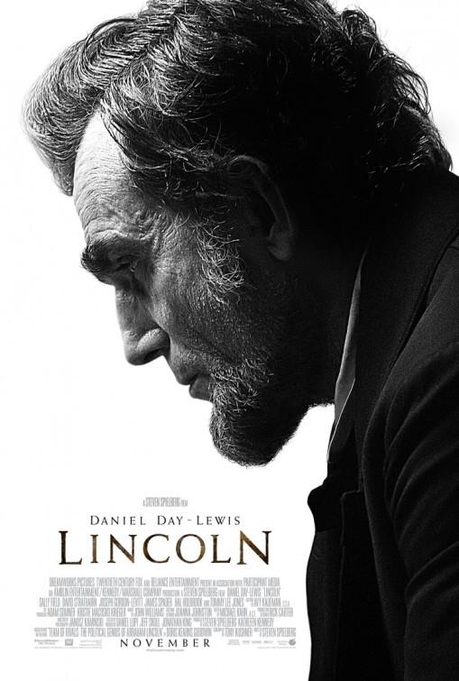 Lincoln: la locandina del film