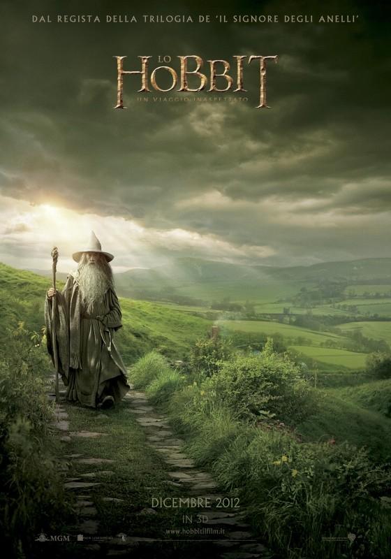 Lo Hobbit - Un viaggio inaspettato: ecco il nuovo poster italiano del film
