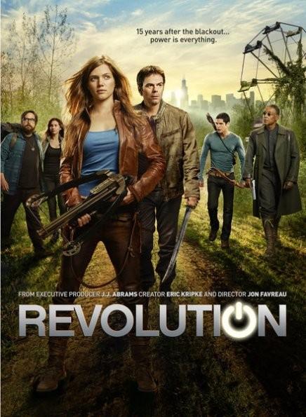 Revolution: un poster della serie