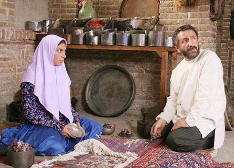 The paternal house: Mehran Rajabi in una scena del film