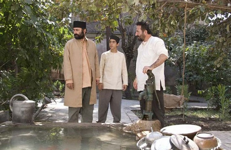 The paternal house: Mehran Rajabi in una scena del film insieme a Nasser Hashemi
