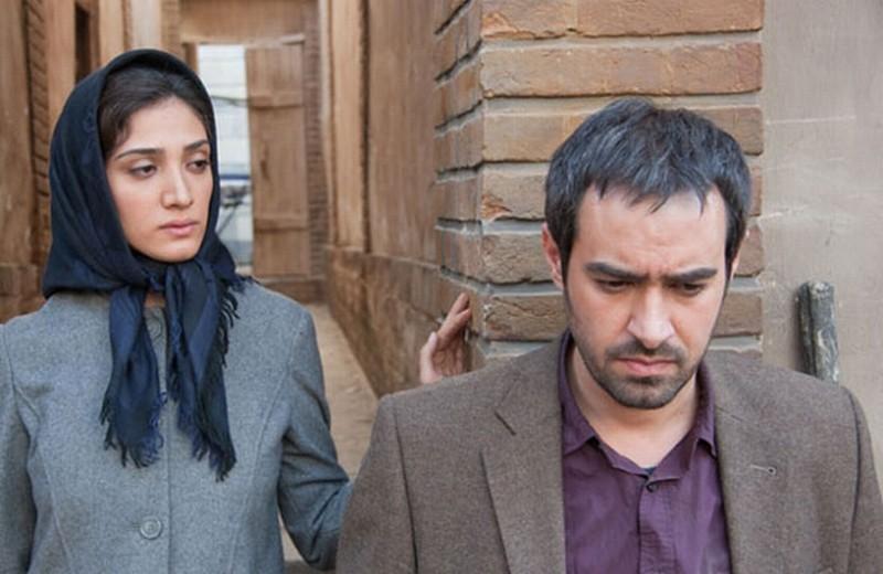 The paternal house: Shahab Hosseini con Mina Sadati una scena del film