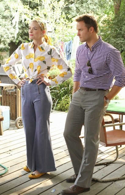 Hart of Dixie: Jaime King e Scott Porter nell'episodio Homecoming & Coming Home