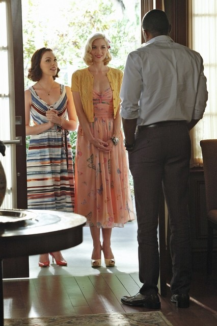 Hart of Dixie: Kaitlyn Black, Jaime King e Cress Williams nell'episodio The Crush & The Crossbow