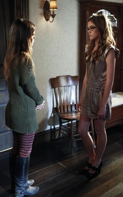 Hart of Dixie: Rachel Bilson e McKaley Miller nell'episodio The Undead & The Unsaid