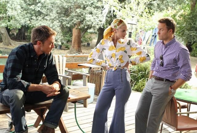 Hart of Dixie: Wilson Bethel, Jaime King e Scott Porter nell'episodio Homecoming & Coming Home
