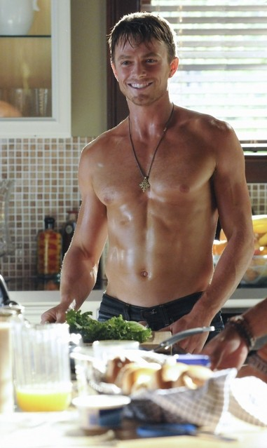 Hart of Dixie: Wilson Bethel nell'episodio In Havoc and In Heat