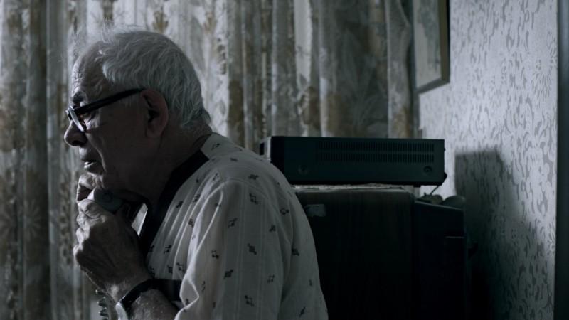 Hayuta ve berl - Epilogue: Yosef Carmon in una scena tratta dal film