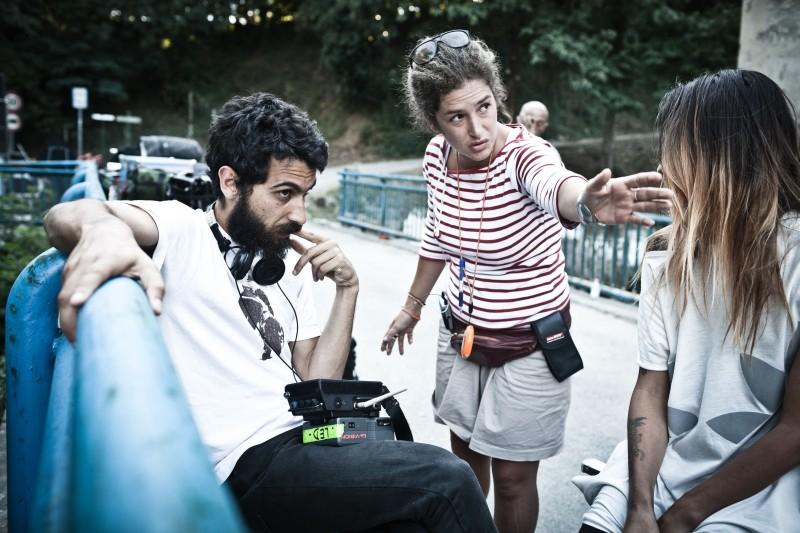 I padroni di casa: il regista Edoardo Gabbriellini sul set
