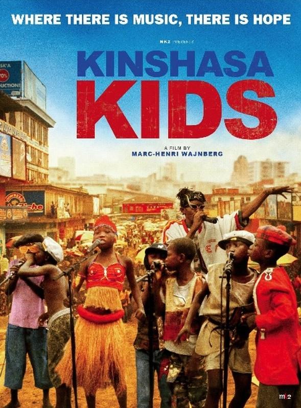 Kinshasa Kids: la locandina del film