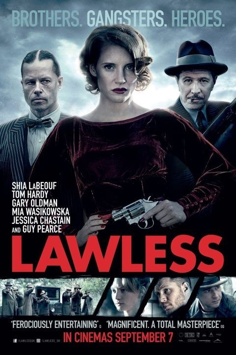 Lawless: UK Poster 1
