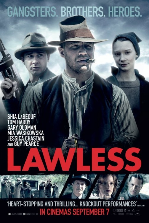 Lawless: UK Poster 2