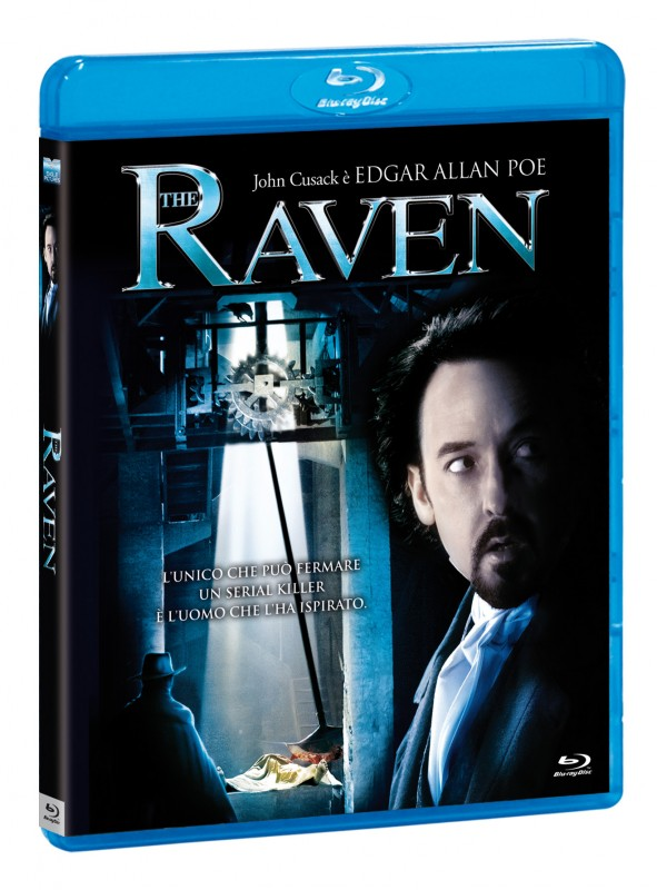 La copertina di The Raven (2012) (blu-ray)