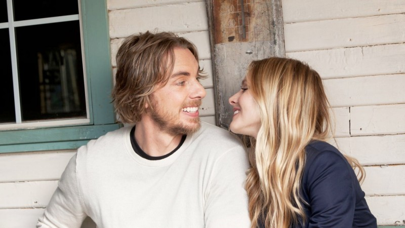 Dax Shepard accanto a Kristen Bell in Hit & Run